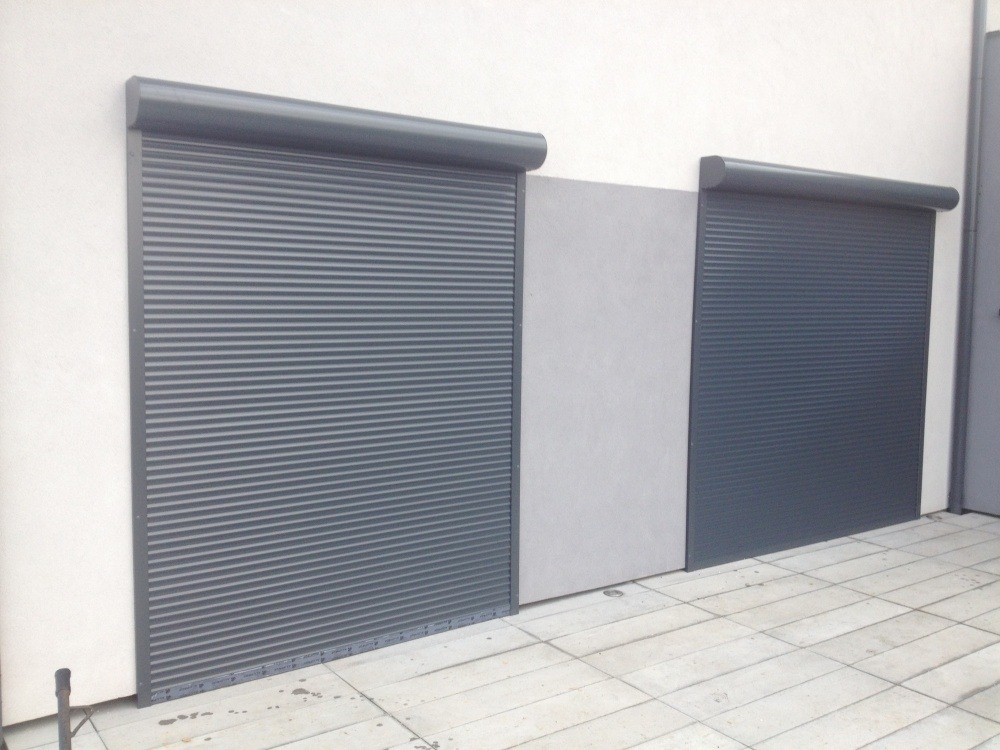 Wszystkie nowe Rolety zewnętrzne natynowe antracyt Tychy, Fasada system DH03